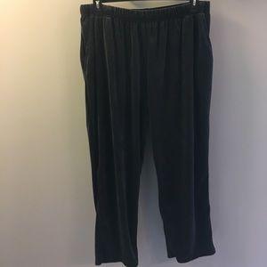 Petite Velour Lounge Pants NWOT